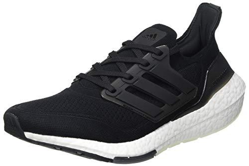 adidas Ultraboost 21, Sneaker Hombre, Core Black/Core Black/Grey, 45 1/3 EU