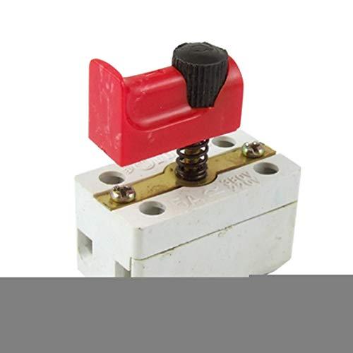 Aexit Taladro eléctrico Herramienta de potencia Interruptor de control de velocidad Interruptor (model: O4208VIX-6904PT) 5A 380V DKZ1-5A