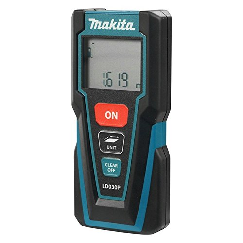 Makita LD030P Laser Distance Measure, Complete with 2 x AAA Batteries, 30 m