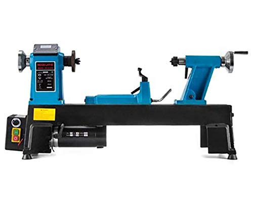 Read About GHGJU Speed regulating Lathe,Small Woodworking Lathe,Family Digital Display stepless Vari...