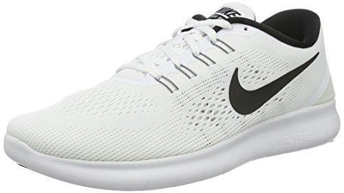 Nike Damen Free Rn Laufschuhe, Weiß (White/Black), 36.5 EU