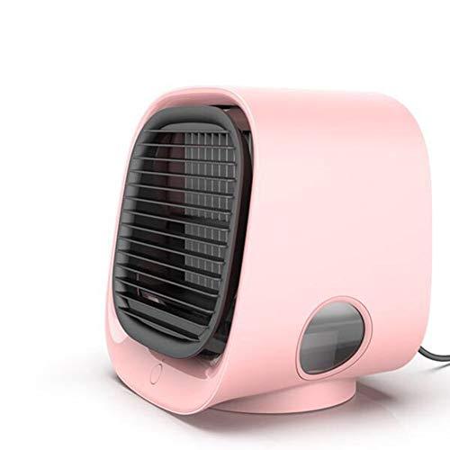 Aire acondicionado personal, refrigerador de aire personal con humidificador y purificador de aire Mini aire acondicionado, velocidad de ventilador, ventilador de refrigerador de aire portátil super s