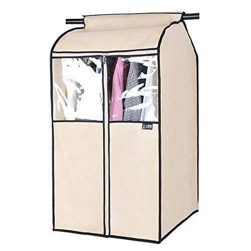 QFFL Sac de compression sous vide Couverture anti-poussière, vêtements tridimensionnels de ménage sac à poussière vêtements transparents couverture vêtements suspendus couvercle anti-poussière Sac de