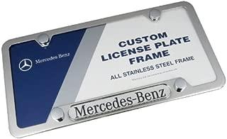 Mercedes-Benz Logo Frame Polished Stainless Steel