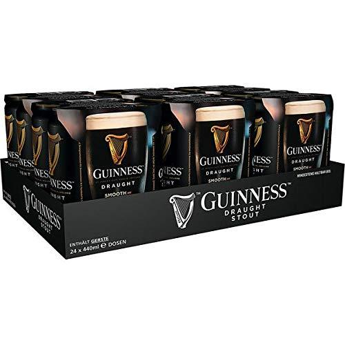 2 x Guinness Draft Can 24x440 ml = 48 latas 4.2% vol.alc.