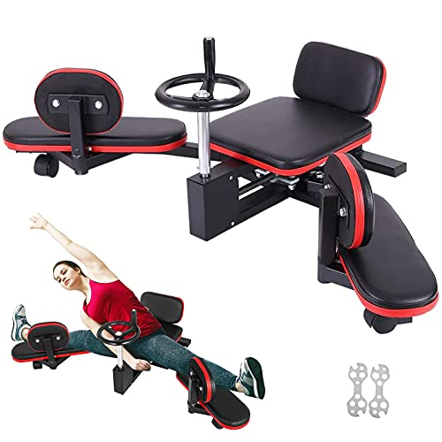 BotaBay Pro Leg Stretcher 330LBS Leg Stretch Machine Heavy Duty Steel Frame Leg Stretcher Training Fitness Equipment Leg Stretcher for Home Gym