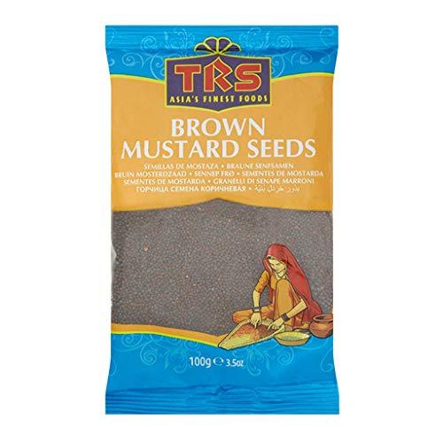 TRS Brown Mustard Seeds 100g Senfkörner Samen