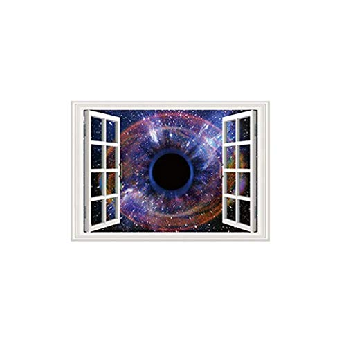 ZEELIY Wandaufkleber-Wanddekoration der modernen Art des schwarzen Lochs kreative