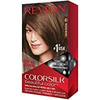 Revlon Colorsilk 100% Gray Coverage Beautiful Color with Keratin