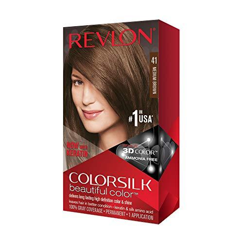Revlon ColorSilk Tinte de Cabello Permanente Tono #41...