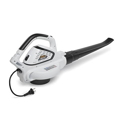Alpina Soffiatore + Aspiratore elettrico BL 2.6 E, 2600 W, Bianco, Sacco di Aspirazione 45 litri