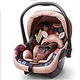 GHGJU Canastilla Tipo Cuna, Cama for niños, Coche for bebé con Cuna Transpirable Los Productos for bebés le brindan a su Hijo un Ambiente Confortable (Color : Pink)