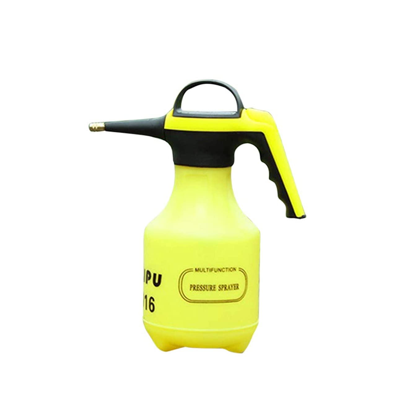 Plant Mister, Tuscom Pneumatic Spray Bottle Vintage Pumpkin Style Water Spray Bottle Plant Atomizer Small Watering Can Pot Empty Water Bottle Garden Accessory Patio Tool (Green,2L)