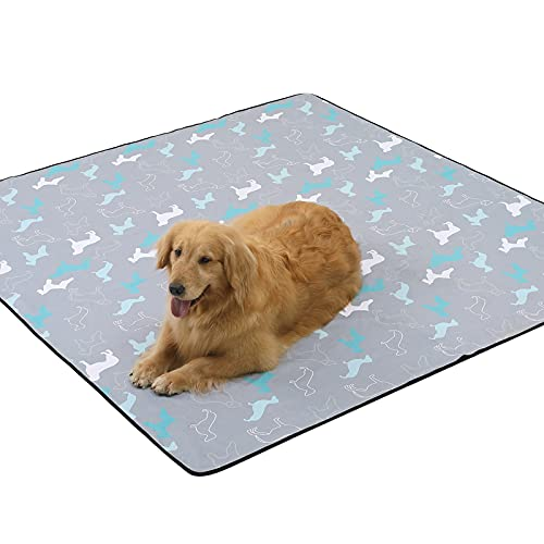 ANWA Washable Pee Pads for Dogs, Reusable Puppy Pads Extra Large 72