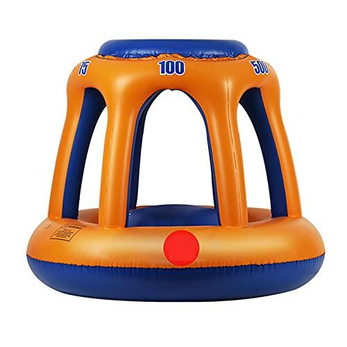 Juguete De Baloncesto Aro De Baloncesto Flotante para Piscina, Soportes De Baloncesto De Playa para Niños con Baloncesto - para Accesorios De Juegos Acuáticos Al Aire Libre