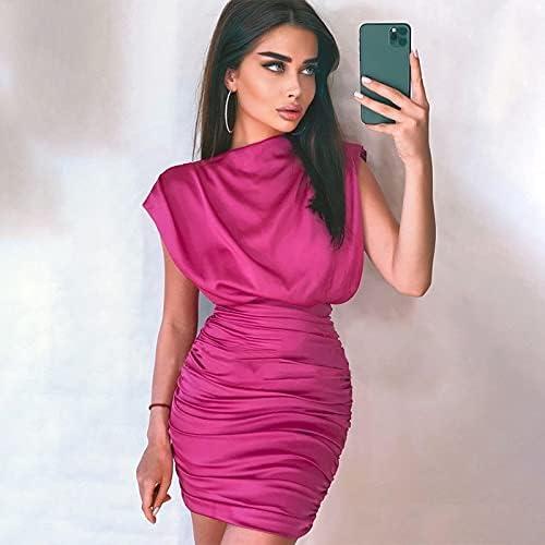 XiaoMinZhang Store Ladies Fashion Temperament security Skirt Hip Sleeveless Dur