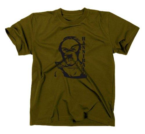 Hannibal Lecter T-Shirt, Oliv, M