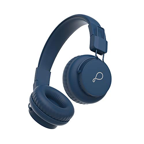 Pebble Elite Pro Over-Ear Wireless Headphone with Ergonomic Aesthetics, Plush Padded Earcups, Immersive Audio, Bluetooth v5.0 & Upto 8H Playback (Blue)