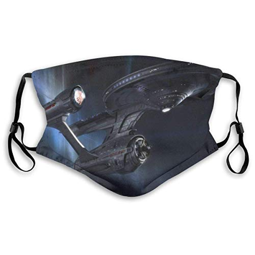 Star TrEk Face Cover Shield Washable Reusable Uv Dustproof Sport Mask Breathable for Cycling Camping Running Traveling Masks Made in USA