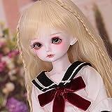 1/4 BJD Doll 39Cm 15.3'Muñecas Articuladas SD Dolls, Fashion Super Shorts Suit Energetic Idol Girl, Juego Completo De Regalos para Juguetes Favoritos De Cumpleaños
