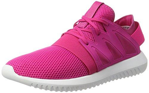 adidas Damen Tubular Viral Sneaker, rosa/weiß, 40 EU