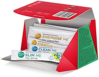 New & Improved Glam Me 3 Days - The Perfect Feel & Look Fabulous Nutritional Kit - Gives You Glowing Skin, Flattens Your Tummy and Boosts Your Energy - 3 Days Kit