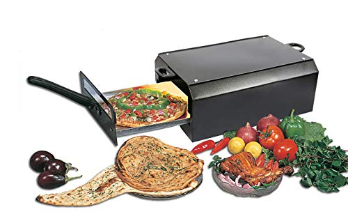 MINI CHEF ELECTRIC TANDOOR(Big Size) with Food Warming Top & 1Pc Magic Cloth + Recipe Book