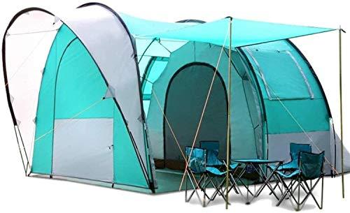 Tienda de campaña LAZ para camping Túnel de lluvia grande tienda de campaña autoconducción al aire libre tienda de campaña 5-6 personas