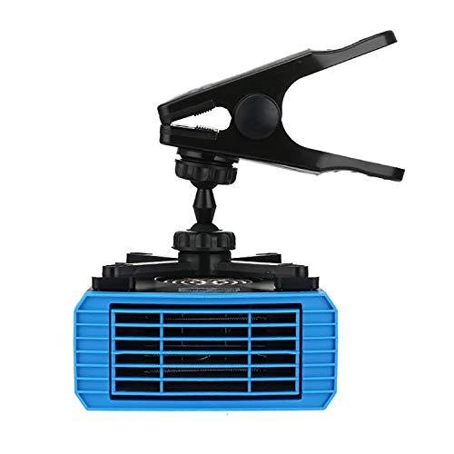 HEATER Encendedor de cigarrillos portátil para coche, antivaho, 200 W, 24 V, 2 en 1, mini descongelador de coche, con mango ergonómico, anticongelador, descongelador, fuego eléctrico