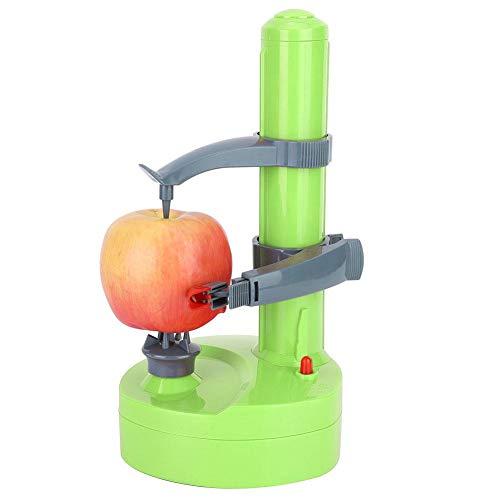 Peladora de patatas eléctrica, cortadora giratoria automática multifuncional de frutas y verduras...