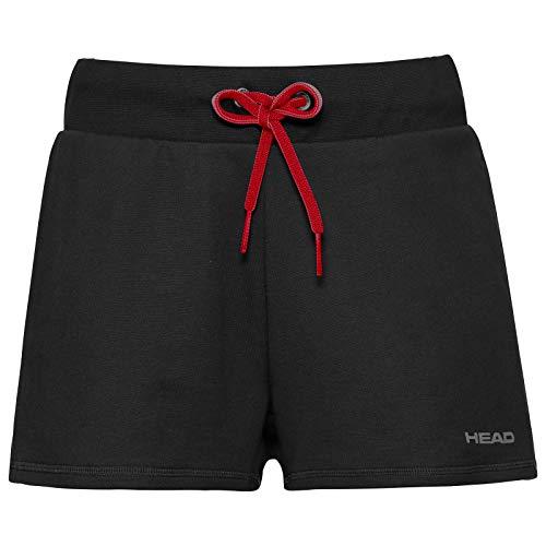 HEAD Damen Shorts Club ANN Shorts W, Schwarz, M, 814439-BK M