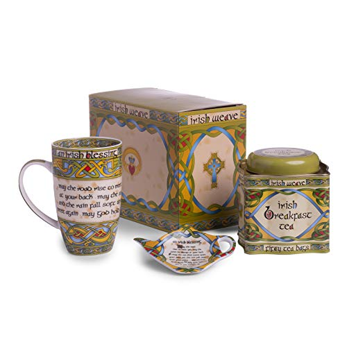 The irish Blessing Tea Set – May The Road Rise To Meet You Blessing