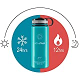ACTIVE FLASK von BeMaxx Fitness 530ml (Aquatic Cyan) - 5