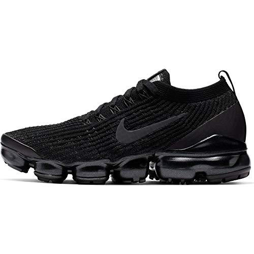 Nike Womens Air Vapormax Flyknit 3 Running Trainers AJ6910 Sneakers Shoes (UK 6 US 8.5 EU 40, Black Anthracite White 002)