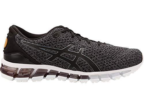 ASICS Men's Gel-Quantum 360 Knit Running Shoes, 10M, Black/Carbon/Pale Gold