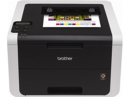 Brother HL-3170CDW Digital Color Printer with Wireless Networking and Duplex, Amazon Dash Replenishment Ready