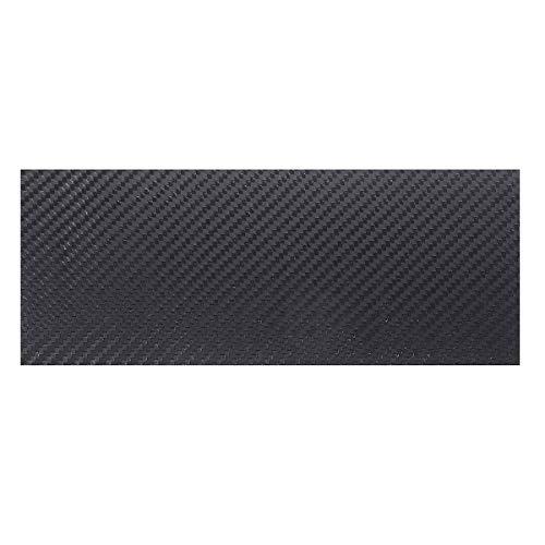 TuToy 100X250X (0.5-5) Mm Negro Mate Twill Fibra De Carbono Placa De Chapa Lámina Tejido De Fibra De Carbono Pannel Varios Espesor - 4Mm