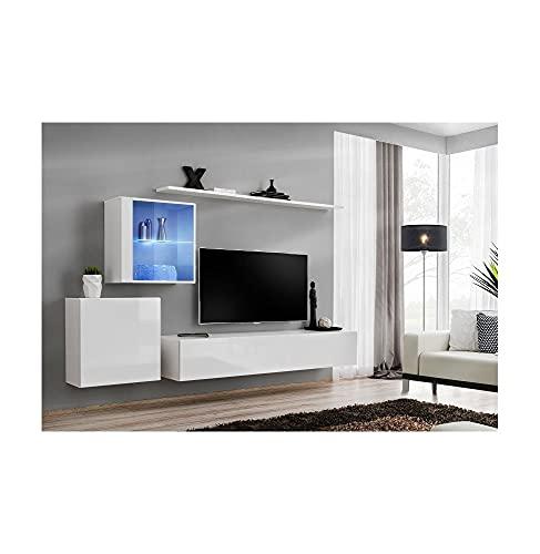 ASM Ensemble TV - 4 éléments - Blanc