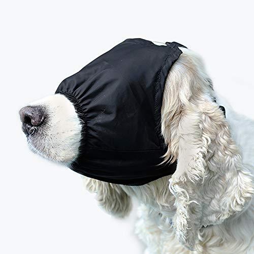 Amakunft Hundesängstungsmaske, Maulkorb, beruhigende Augenmaske, multifunktionale Haustierangst-Maske, Schattierung, Augenbinde, Anti-Aufregendes Artefakt, lindert Autokrankheit