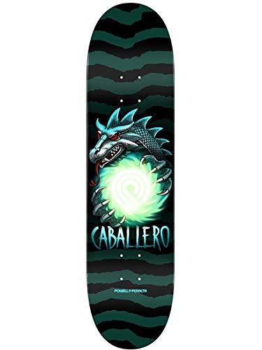 Powell Peralta Schwarz Grun Steve Cab Dragon Ball - 8.25 Inch Skateboard-Deck (One Size, Schwarz)