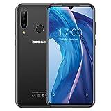DOOGEE. N20 Télephone Portable Débloqué, Écran 6,3 Pouces FHD+, Octa-Core 4Go+ 64Go, 16MP + 8MP + 8MP + 16MP, Batterie 4350mAh, Charge Rapide 10W, Android 9.0, Smartphone Pas Cher 4G Dual SIM- Noir