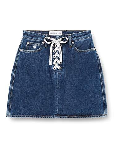 Calvin Klein Jeans dames High Rise Mini Rok
