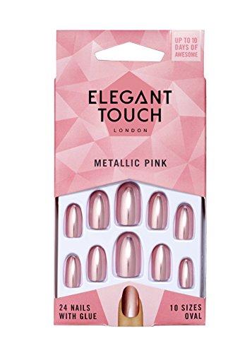 Eylure ET verf nagellak, metallic roze