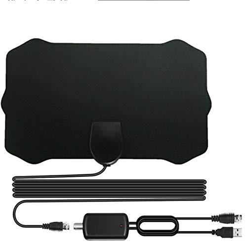 Antena HDTV 2020, antena de TV digital interior amplificada compatible con Freeview 4K HD Freeview Life canales locales de todo tipo de interruptores de televisión amplificador de señal amplificador