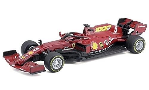 Bburago Ferrari Racing Ferrari SF1000, No.5, Scuderia Ferrari, Formel 1, GP Toskana, 1000th GP for Ferrari, Monza, S.Vettel, 2020, 1:43, Fertigmodell