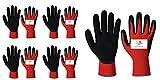 SAFEYURA® Industrial Safety Nylon Anti Cut, Cut Resistant Hand Gloves -5 Pairs