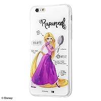 iPhone 6s / 6 /ディズニー キャラクター/TPU ケース+背面パネル/塔の上のラプンツェル/プリンセスのプロフィール IJ-DP6TP/RZ012