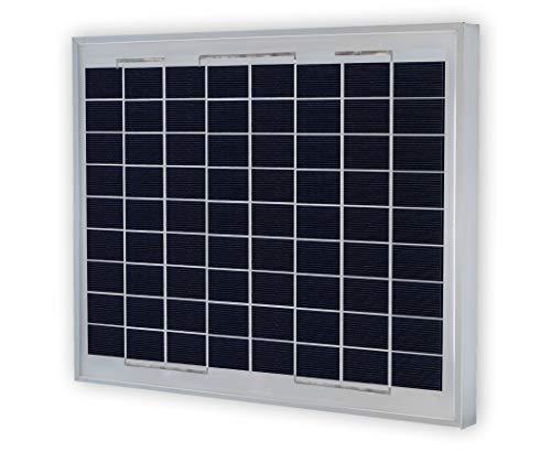 VIKOCELL Photovoltaïque Panneau Solaire Polycristallin 10W Pour Charger Batterie 12V