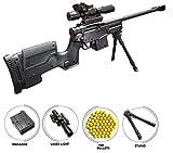 IndusBay PUBG AWM Sniper Rifle Toy Gun 28 Inches Long Gun with 100