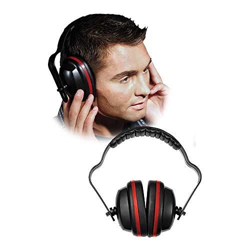 Rijst OSB gehoorbeschermer, zwart-rood, S/M/L maat